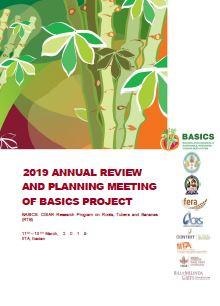 2019 Annual review and planning meeting of BASICS project