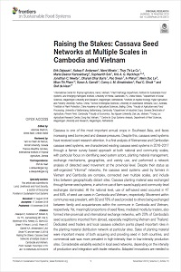 Raising the Stakes: Cassava Seed Networks at Multiple Scales in Cambodia and Vietnam