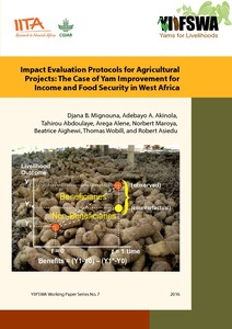 Impact evaluation protocols for agricultural projects: the case of yam improvement for income and food security in West Africa