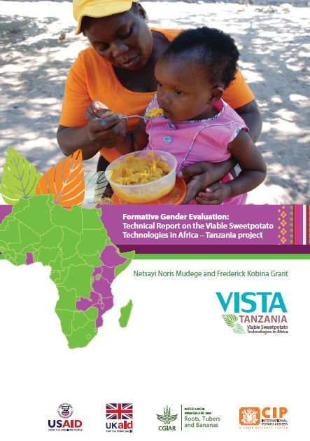 Formative gender evaluation: technical report on the viable sweetpotato technologies in Africa - Tanzania project.