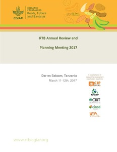 RTB Annual Review and Planning Meeting Report 2017.