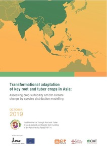 Transformational adaptation of key root and tuber crops in Asia: Assessing crop suitability amidst climate change by species distribution modelling
