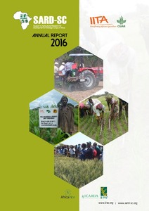 Support to Agricultural Research for Development of Strategic Crops in Africa Annual Report 2016
