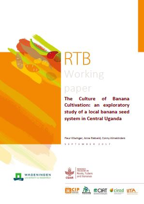 The culture of banana cultivation: an exploratory study of a local banana seed system in Central Uganda.